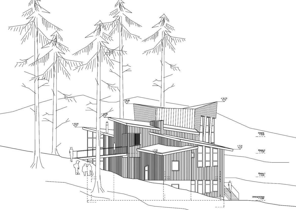 Erweiterungsbau Oberstufe, Waldorfschule Moss / Norwegen