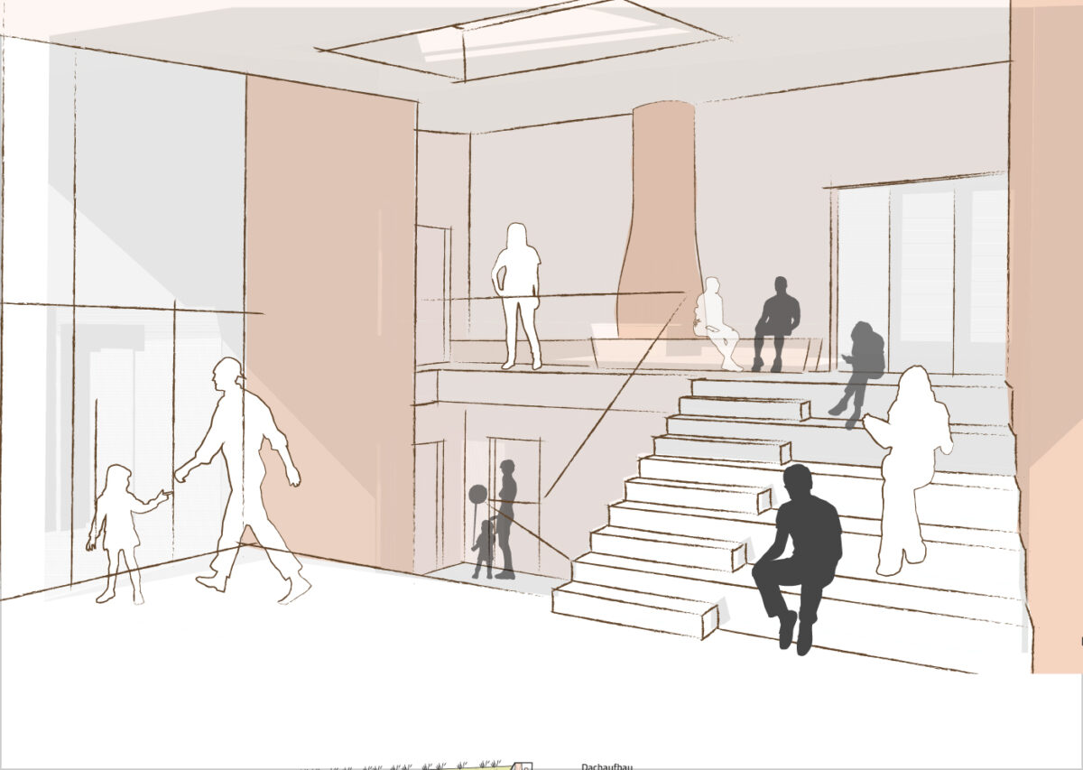 Wettbewerb Neubau Hort, 2. Preis Freie Waldorfschule am Prenzlauer Berg, Berlin