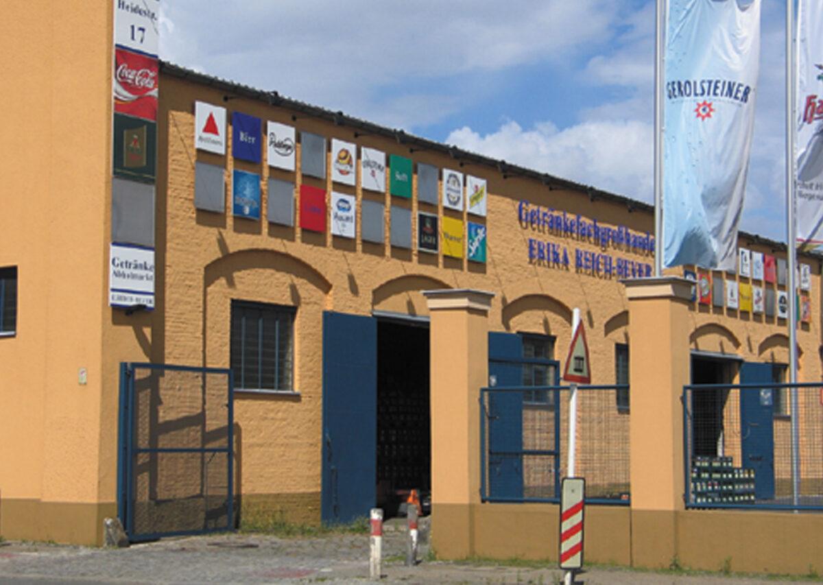 Modernisierung eines Getränkemarktes in Berlin-Moabit