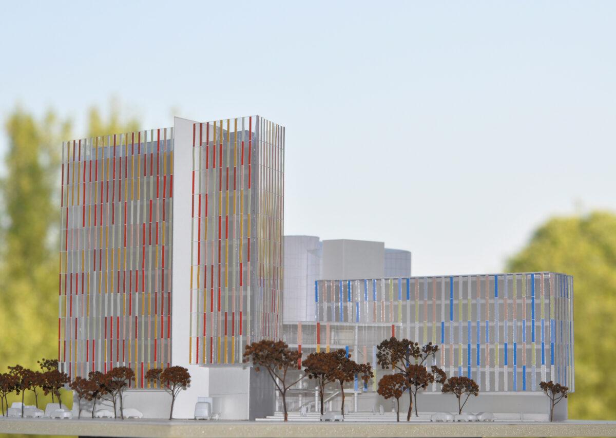 Neubau dm-Verwaltungszentrale,  Karlsruhe