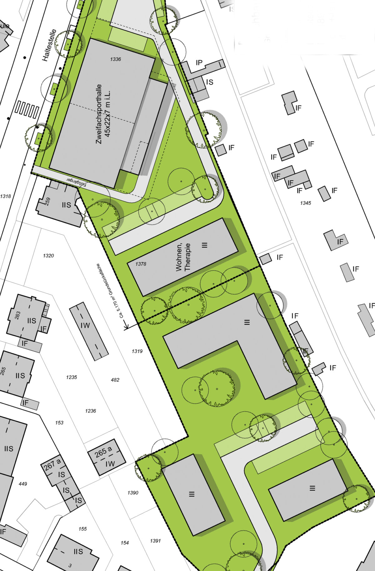 Neubau Turnhalle und Therapiehaus Rudolf Steiner Schule Bochum
